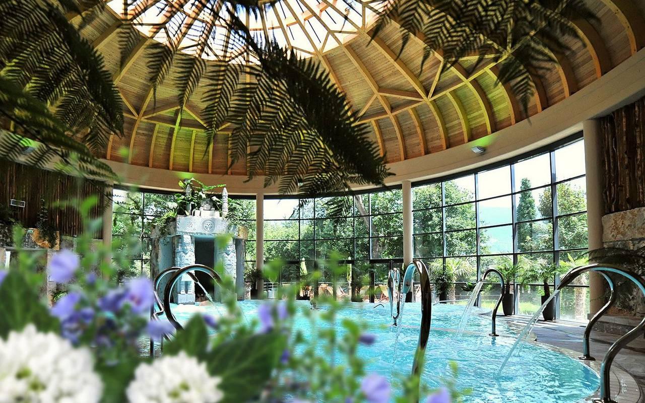 Indoor swimming pool, Lourdes activities, Hôtels Vinuales